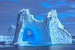 The cruise from Decption to Livingstone Island.more spectacular icebergs. (25715339640).jpg