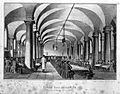 The dining hall, Greenwich, full of Pensioners eating dinner Wellcome L0007787.jpg