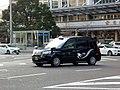 The frontview of Toyota JPN TAXI TAKUMI (DAA-NTP10-AHXGN) as a taxi of TSUBAME TAXI.jpg