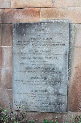 Maitland baronets - The grave of John Nisbet Maitland, baronet, Grange Cemetery, Edinburgh