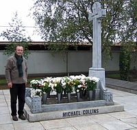 The grave of Michael Collins at Glasnevin - geograph.org.uk - 337734.jpg
