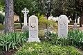 The graves of John Keats & Joseph Severn 02.jpg