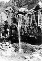 The lower falls of El Rito de los Frijoles, lower Frijoles Canyon, Bandelier National Monument. The drop is about 65 feet. (a4aea63cbc00482da66ec5eb75188930).jpg