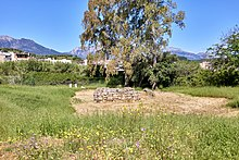 The remains of the Temple of Artemis Orthia in Sparta on 15 May 2019.jpg
