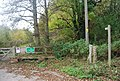 The start of the Forest Way, Corseley Rd - geograph.org.uk - 1588058.jpg