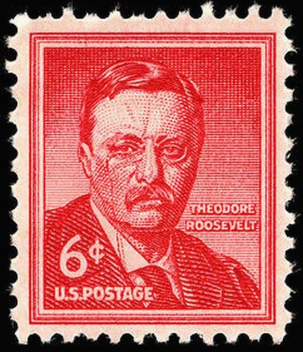 Theo Roosevelt 1955 Issue-6c
