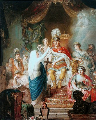 Prince Augustus Ferdinand of Prussia - Apotheosis of Prince Augustus Ferdinand (1779) by Anna Dorothea Therbusch, Royal Castle in Warsaw