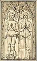 Thibaut de Puiseux chevalier mort 1344 Agnès de Trie Hérivaux.jpg