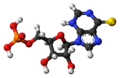 Thioinosine monophosphate 3D ball.png