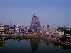 Tower of Ulagalantha Perumal Temple