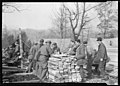 This 'Counter Restaurant' Is at CCC Camp, TVA -22, near Esco, Tennessee. Temporarily the Boys Are Eating Outdoors and Using for a Lunch Counter Lumber Which Is to Be Used in the Construction of Their Winter Barracks (3903231231).jpg