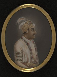 This painting depicts Ahmad Shah (1748-54)..jpg