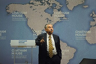 Thomas Friedman - Friedman speaking at the Chatham House in London in September 2014