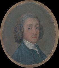 Portrait of a Young Man with Powdered Hair
