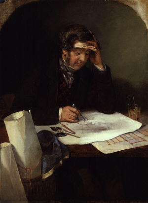 Thomas Henry Wyatt - Image: Thomas Henry Wyatt by George Landseer
