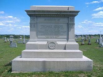 Thomas Kirker - Gravestone of Thomas Kirker