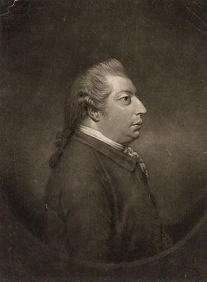 Thomas Norris (composer) - Thomas Norris, 1777 engraving