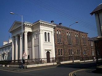 Methodist Church in Ireland - Image: Thomas Street Methodist Church, Portadown. geograph.org.uk 571138