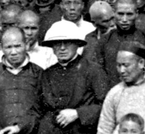 Thomas Frederick Price - Father Thomas F. Price, co-founder of the Maryknoll Fathers and Brothers, center, was pictured in a 1918 photo in China.