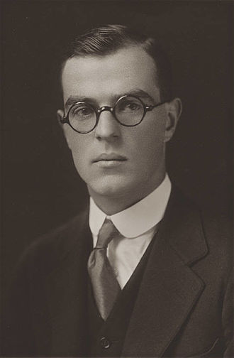 Thornton Wilder - Wilder in his Yale College graduation photo (1920)