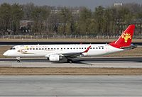 Tianjin Airlines Embraer ERJ-190-100IGW 190AR Zhao-1.jpg