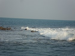 Tidal Wave at Bay of Bengal.JPG