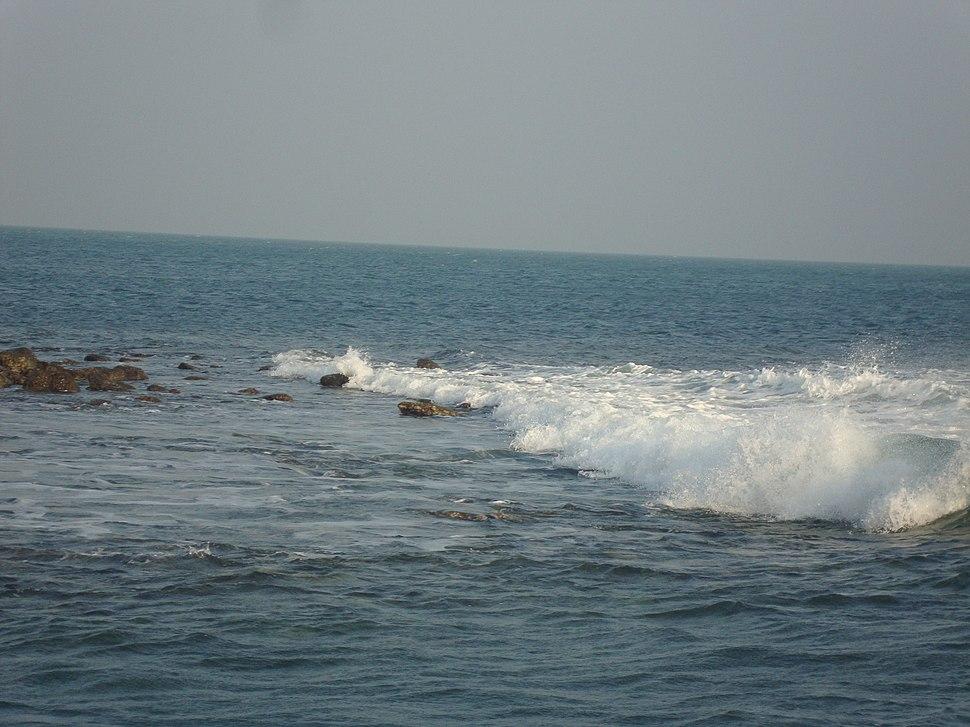 Tidal Wave at Bay of Bengal