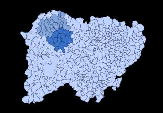 Tierra de Vitigudino Comarca in Castile and León, Spain