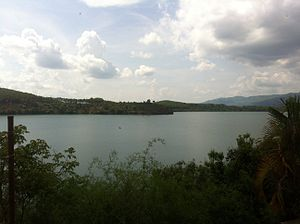 Pleiku - T' Nung Lake in outskirt of Pleiku