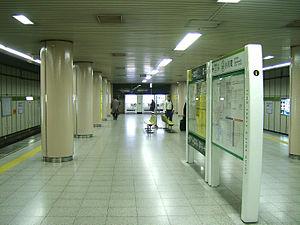 Ogawamachi Station (Tokyo) - The platforms