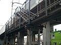 Tokaido Shinkansen maintenance workers stair - Satsuki(Toyohashi).jpg