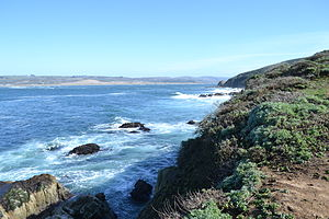 Tomales Point - Image: Tomales Bay as viewed from Tomales Point Trail 3