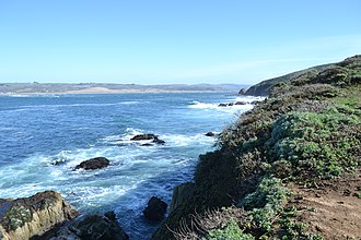 Tomales Bay - Image: Tomales Bay as viewed from Tomales Point Trail 3