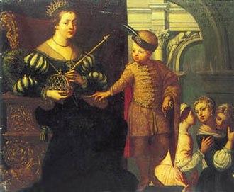 Tomasina Morosini - Tomasina with her son Andrew