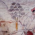 Tomb of Northern Qi Dynasty in Jiuyuangang, Xinzhou, Mural 32.jpg