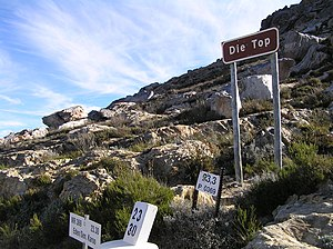 Swartberg Pass - Image: Top of the Swartberg Pass
