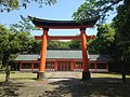 Torii of Tongu Shrine in Usa Shrine.JPG