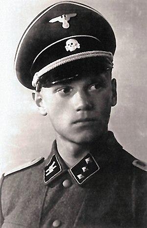 Lauri Törni - Törni in Waffen-SS uniform