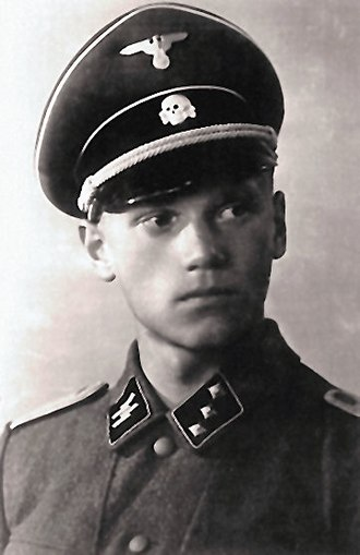 Lauri Törni - Törni in Waffen-SS uniform