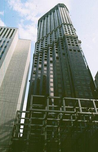 Scotia Plaza - Image: Toronto Scoria plaza construction