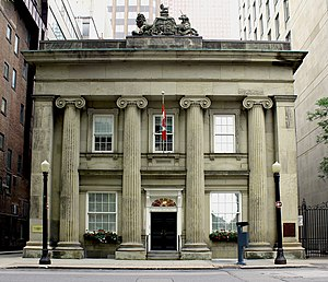 Argus Corporation - Former headquarters at 10 Toronto Street