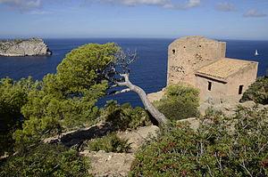 Andratx - Image: Torre de Cala en Basset pjt 1