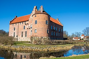 Görvel Fadersdotter (Sparre) - Torup Castle in Skåne