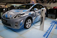 Toyota Prius Plug In Hybrid Concept At The 2009 Frankfurt Motor Show