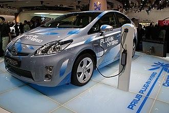 Toyota Prius Plug-in Hybrid - Toyota Prius Plug-In Hybrid Concept at the 2009 Frankfurt Motor Show.