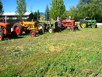 Fairfield, Idaho - Tractors in Fairfield