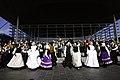 Traditional Welsh dance and costume, Senedd, St David's Day Gwisgoedd a dawnsio traddodiadol Gymreig, Senedd, Dydd Gŵyl Dewi 2009.jpg