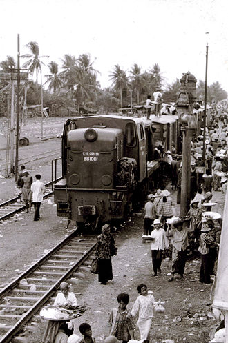 Rail transport in Cambodia - Train in Cambodia