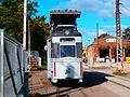 Tram T24 at Kopli Tram Depot in Tallinn 16 September 2016.jpg