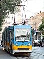 Tramway in Sofia in Alabin Street 2012 PD 015.jpg